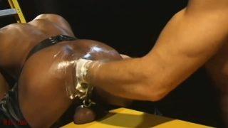 Punching A Beautiful Black Ass