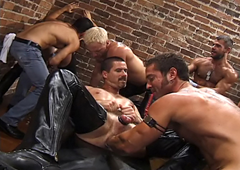 Dungeon Leather Fist Fuckers