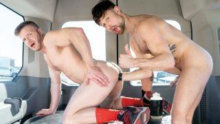 Fist Bus #02 – Scene 1: Drew Dixon Fisting Brian Bonds